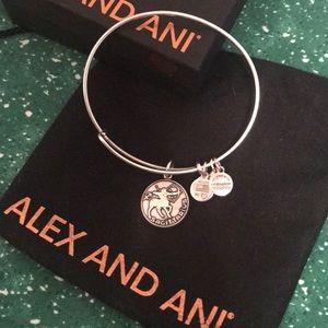 Alex and Ani Silver Sagittarius Bracelet
